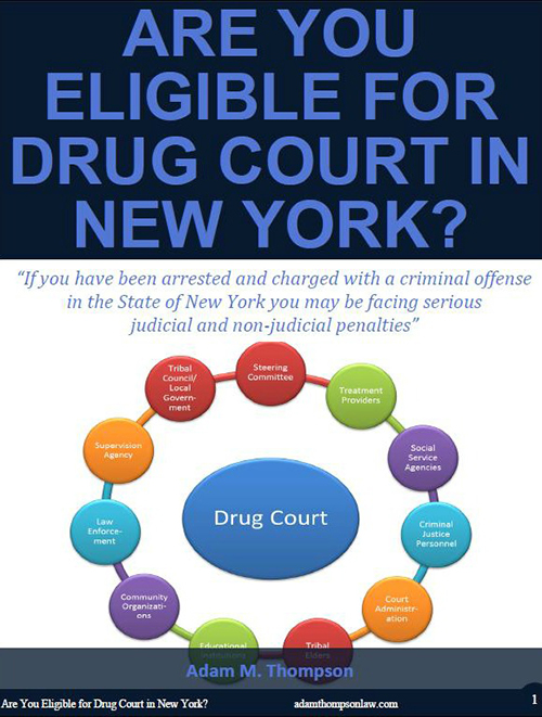 Are you eligible for drug court in New York?