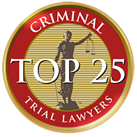 Criminal Trial Lawyers Top 25
