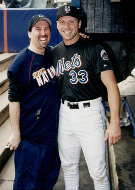Adam M. Thompson & Bubba Trammell at the 2000 Bobby Valentine Foundation Charity Event
