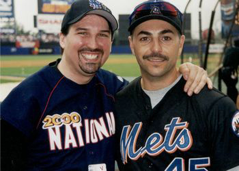 Adam M. Thompson & John Franco at the 2000 Bobby Valentine Foundation Charity Event
