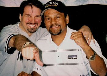 Adam M. Thompson & Hands of Stone Roberto Duran